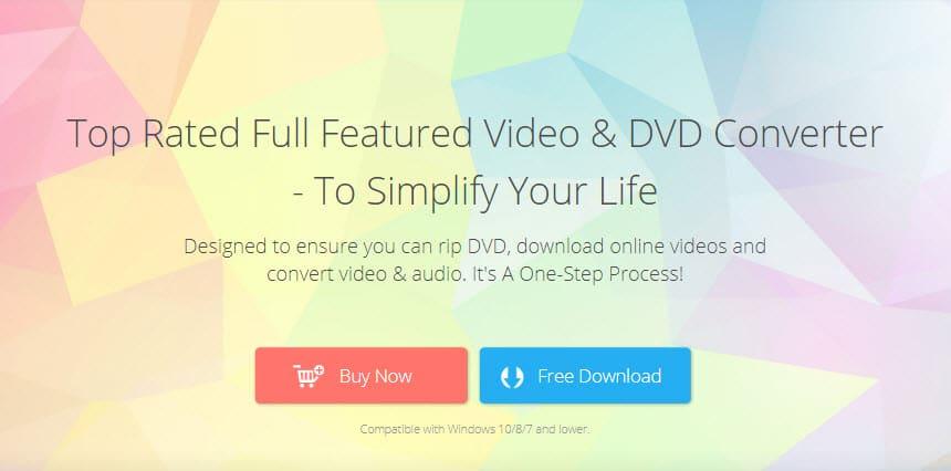Wonderfox DVD Video Converter screen