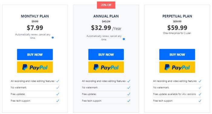 Wondershare Democreator pricing