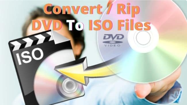 Rip DVD to ISO